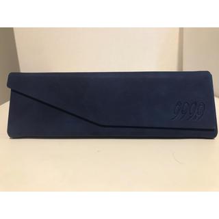 フォーナインズ(999.9)のフォーナイン折畳ケース【ブルー】(サングラス/メガネ)