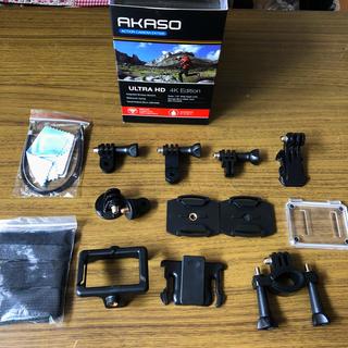 ゴープロ(GoPro)のAKASO アクションカメラEK7000 付属品 新品未使用品(コンパクトデジタルカメラ)