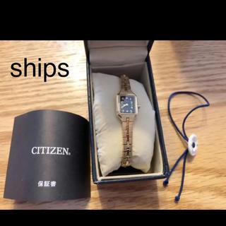 シチズン(CITIZEN)のships❤︎限定モデル!アナログ腕時計(腕時計)
