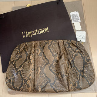 L'Appartement DEUXIEME CLASSE - L'Appartement 【シータパランティカ】Python Clutch