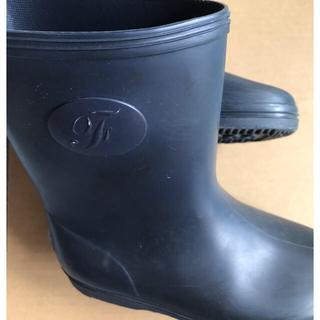 ファミリア(familiar)のファミリア 紺色長靴 縁起物(長靴/レインシューズ)