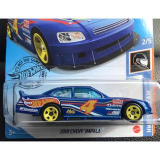 シボレー(Chevrolet)のホットウィール 2010 CHEVY INPALA シェビー インパラ ブルー(ミニカー)