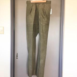 COMOLI - NEAT VINTAGE TENT CLOTH テーパード