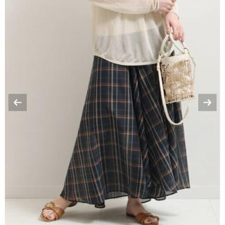 ノーブル(Noble)のNOBLE ティアードイレギュラーヘムマキシスカート(ロングスカート)
