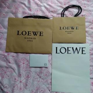 ロエベ(LOEWE)の【5点セット】ロエベ 手提げ袋 メモ入れ(ショップ袋)