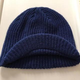 バートン(BURTON)のニット帽 キッズ 帽子 ツバ付き バートン ビーニー(帽子)