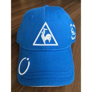 ルコックスポルティフ(le coq sportif)の【新品・未使用‼️】le coq sportif golf cap(キャップ)
