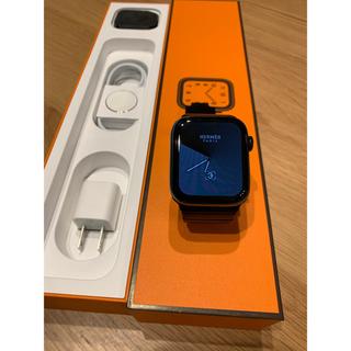 アップルウォッチ(Apple Watch)のApple Watch HERMES5 44㎜(腕時計(デジタル))