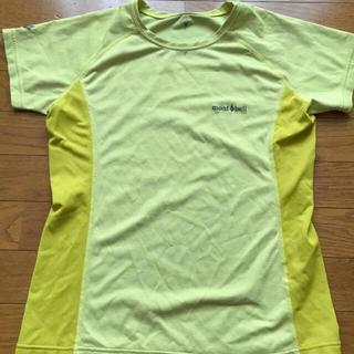 モンベル(mont bell)のmont-bell モンベル ランニングTシャツ 山登り(Tシャツ(半袖/袖なし))