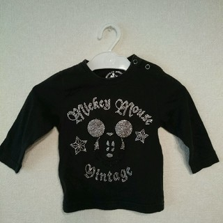 80cm☆ストンプスタンプ☆ミッキー☆長袖Tシャツ(Tシャツ)