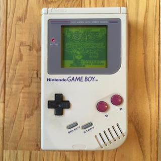 ゲームボーイ - 【美品】ゲームボーイ 本体 とソフト1本 セット 遊戯王 GB 初代 白黒