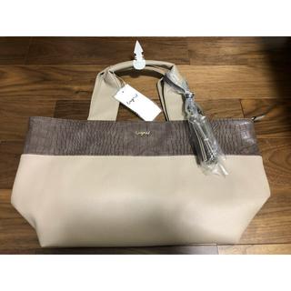 アングリッド(Ungrid)の新品未使用タグ付きアングリッドクロコ風型押しバッグ(ハンドバッグ)