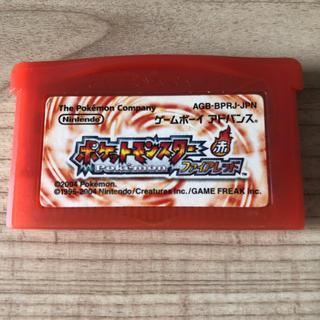 ゲームボーイアドバンス(ゲームボーイアドバンス)のGBA ポケットモンスター ファイアレッド(携帯用ゲームソフト)