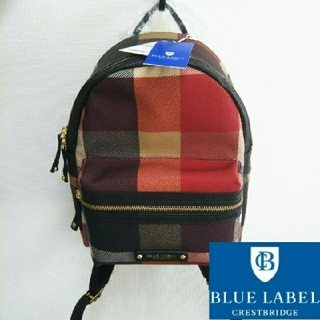 バーバリーブルーレーベル(BURBERRY BLUE LABEL)の【新品タグ付き】ブルーレーベル・クレストブリッジ リュックサック/バックパック(リュック/バックパック)