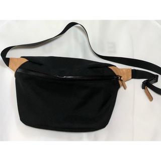 エンフォルド(ENFOLD)の美品 nagonstans ナゴンスタンス ナイロンオックス Belt Bag(ボディバッグ/ウエストポーチ)