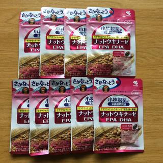コバヤシセイヤク(小林製薬)のナットウキナーゼ EPA DHA 9袋セット(その他)