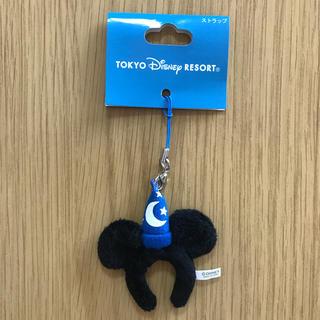 ミッキーマウス(ミッキーマウス)の未使用 Disney ディズニー ミッキーマウス ストラップ(ストラップ/イヤホンジャック)