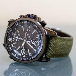 セイコー(SEIKO)のセイコー プロスペックス PROSPEX SSC295P1 ソーラー クロノ (腕時計(アナログ))