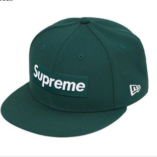 シュプリーム(Supreme)のSupreme world famous box logo New era(キャップ)