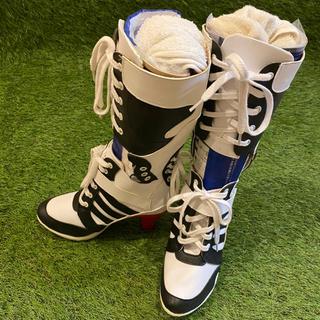 ハーレークイン スィーサイドスクワット コスプレ ブーツスニーカー(靴/ブーツ)