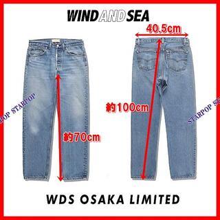 シー(SEA)のWIND AND SEA USED DENIM OSAKA LIMITED(デニム/ジーンズ)