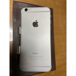 アイフォーン(iPhone)のiPhone6 シルバー64GB. SIMフリー(携帯電話本体)
