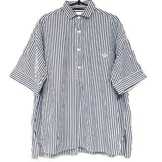 ダントン(DANTON)のダントン 半袖シャツブラウス サイズ40 M -(シャツ/ブラウス(半袖/袖なし))