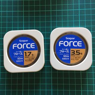 がまかつ - 値下げ seaguar force ハリス 1.7号 3.5号