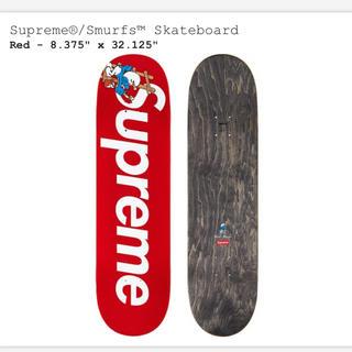 シュプリーム(Supreme)のsupreme スマーフ デッキ赤(スケートボード)