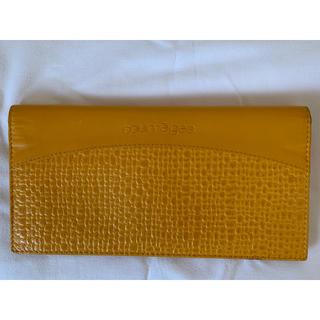 クレージュ(Courreges)のクレージュ長財布 黄色系(財布)