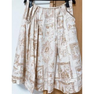 ヴィクトリアンメイデン(Victorian maiden)のVictorianMaiden Lazyafternoon タックスカート(ひざ丈スカート)
