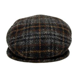 アニエスベー(agnes b.)のアニエスベー ハンチング 57 チェック柄(ハンチング/ベレー帽)