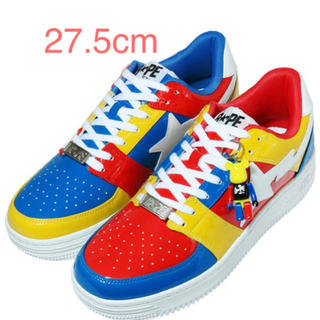 メディコムトイ(MEDICOM TOY)のMEDICOM TOY BAPE STA LOW 27.5cm(スニーカー)