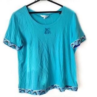 レオナール(LEONARD)のレオナール 半袖カットソー サイズ42 L -(カットソー(半袖/袖なし))