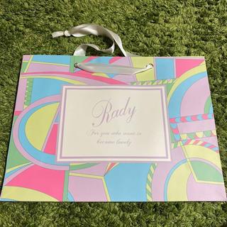 レディー(Rady)のRady 紙袋(ショップ袋)