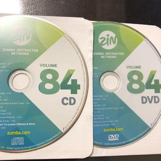 ズンバ(Zumba)のズンバ ZIN84  CD.DVD (スポーツ/フィットネス)