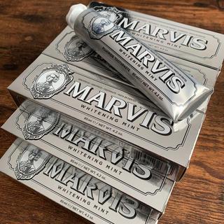 マービス(MARVIS)の新品・正規品 MARVIS 歯磨き粉 ホワイトニングミント 3本セット(歯磨き粉)