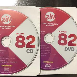 ズンバ(Zumba)のズンバ ZIN82  CD.DVD(スポーツ/フィットネス)