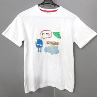 フェンディ(FENDI)のフェンディ 半袖Tシャツ サイズ12+ XS美品 (Tシャツ(半袖/袖なし))