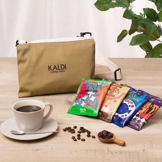 KALDI - カルディ☆コサッシュバッグ(ドリップコーヒー入)
