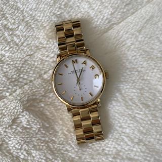 マークバイマークジェイコブス(MARC BY MARC JACOBS)のMARC BY MARC JACOBS 腕時計 ゴールド(腕時計)