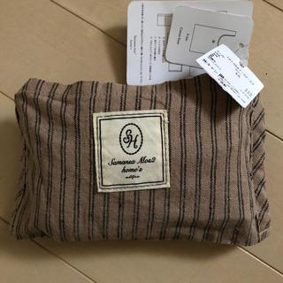 サマンサモスモス(SM2)のサマンサモスモスホームズ コットンリネンsh刺繍マルシェバッグS(エコバッグ)