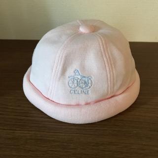 セリーヌ(celine)のセリーヌ 帽子 46cm ピンク(帽子)