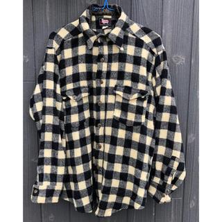 ウールリッチ(WOOLRICH)のウールシャツ 50sウールリッチ羊タグ レア品(シャツ)