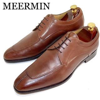 YANKO - 【MEERMIN】約26.5cm ビジネスシューズ 革靴 メンズ 男性 ドレス