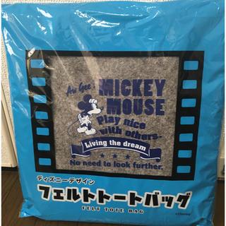 ミッキーマウス(ミッキーマウス)のフェルトトートバッグ(トートバッグ)