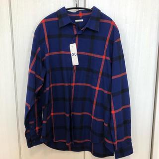 ジーユー(GU)のGU 長袖シャツ XL(シャツ)