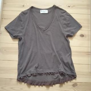 ナノユニバース(nano・universe)のnano・universe デザインTシャツ(Tシャツ(半袖/袖なし))