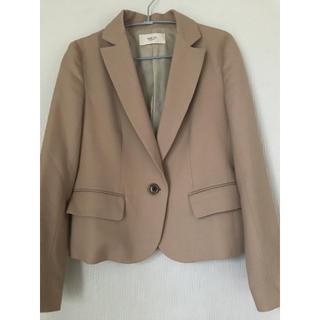フレイアイディー(FRAY I.D)のジャケット キャメルSサイズ(テーラードジャケット)