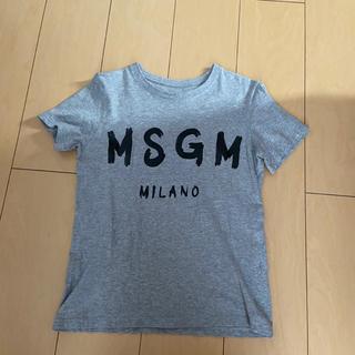エムエスジイエム(MSGM)のmsgm筆文字tシャツ(Tシャツ(半袖/袖なし))